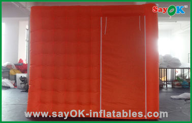 Portable Red Custom Inflatable Products Oxford Cloth For Wedding
