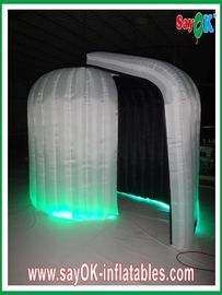 Durable Rounded Inflatable Blow Up Photobooth 3 x 2.3 x 2m With Black Inside